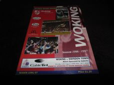 Woking v Swindon Town, 1996/97 [Fr]